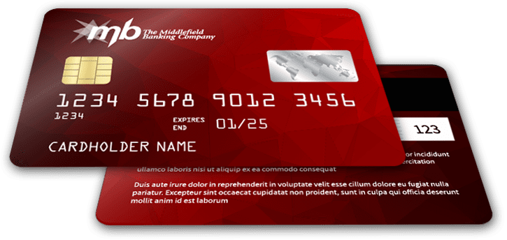 Middlefield credit card